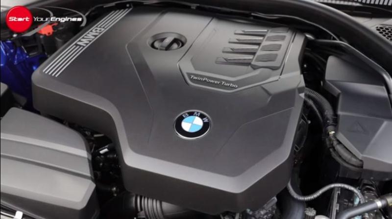 BMW330iMスポーツのエンジン