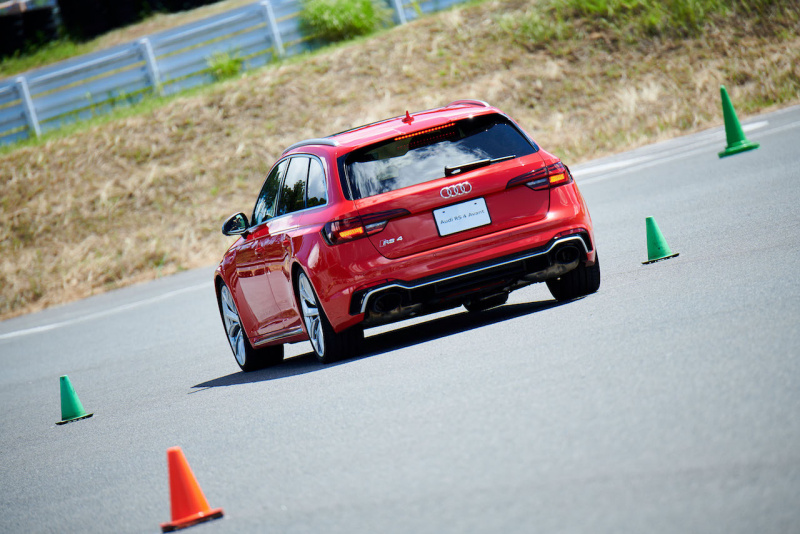 Audi women's driving experience