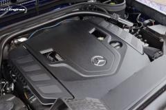 V8ツインターボのエンジン