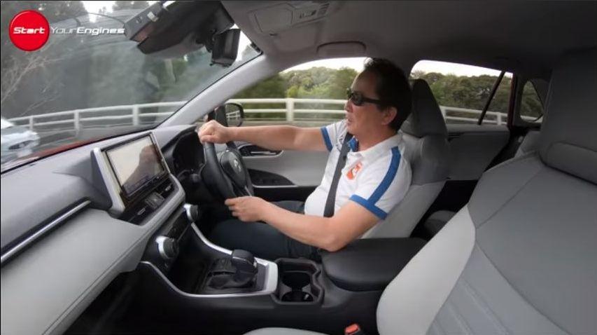 国際自動車評論家・清水和夫さん。