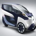 トヨタ自動車など3社が参加するカーシェアリング実証実験で安全運転ドライバーにポイントを付加 - HamoRIDE_toyota_i-road_08