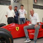 ゲルハルト・ベルガーの愛機「フェラーリF187」が富士スピードウェイに登場【SUPER GT 2019】 - 2019-08-03 13.21.26-2