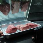 【マジメに実験してみた】炎天下の車内に牛肉を置いたら、過去最高に美味しいローストビーフができた!? - DSC_3365