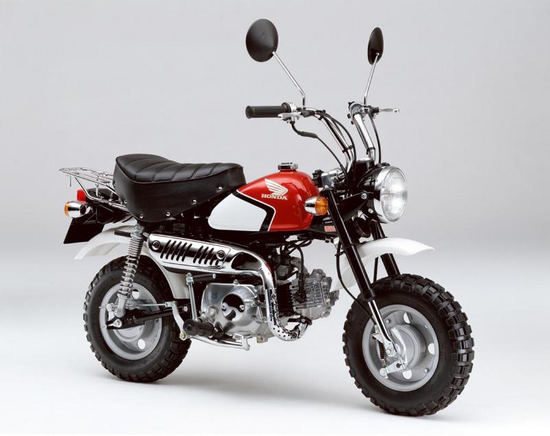 ホンダ・モンキー・スペシャル(CBX400Fカラー)