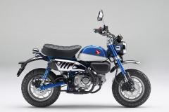 ホンダ・モンキー125(パールグリッターリングブルー)