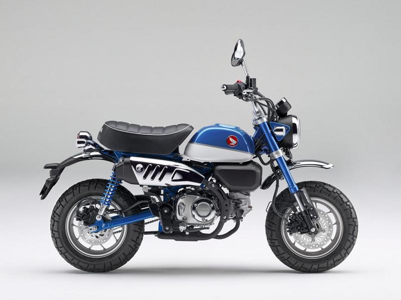 ホンダ・モンキー125ABS(パールグリッターリングブルー)