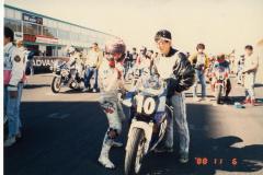 88シーズン後半のレースのスターティンググリッド