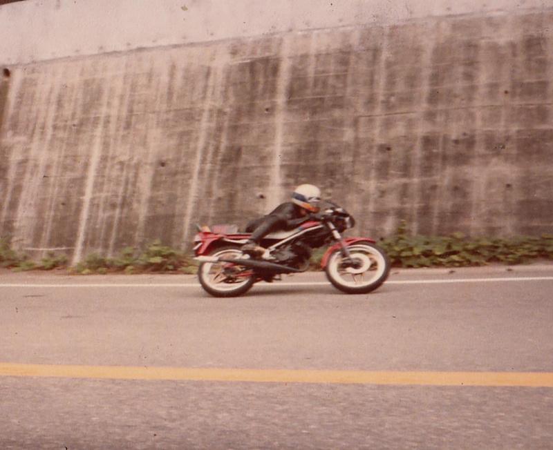 MB50の峠の走り