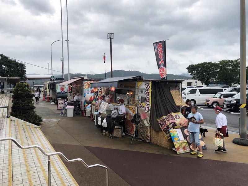 佐野サービスエリア(上り)の露店2