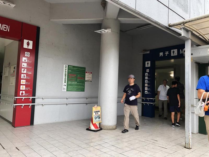 佐野サービスエリア(上り)のトイレ