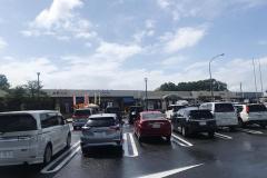 佐野サービスエリア(上り)の駐車場