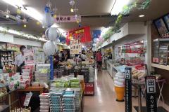 佐野サービスエリア(下り)のショッピングコーナー