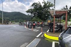 佐野サービスエリア(上り)のバイク