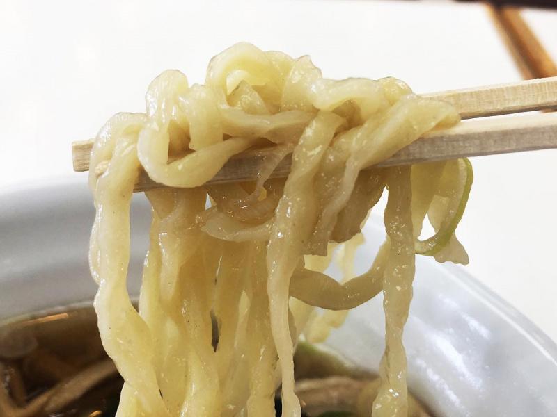 佐野ラーメンの麺