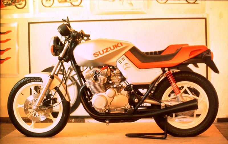 スズキGS650Gのプロトモデル
