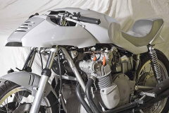 MVアグスタのデザインコンセプトのクレイモデル