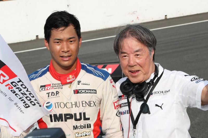 スーパーフォーミュラもてぎで初優勝した平川亮
