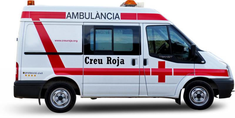 スペインの救急車