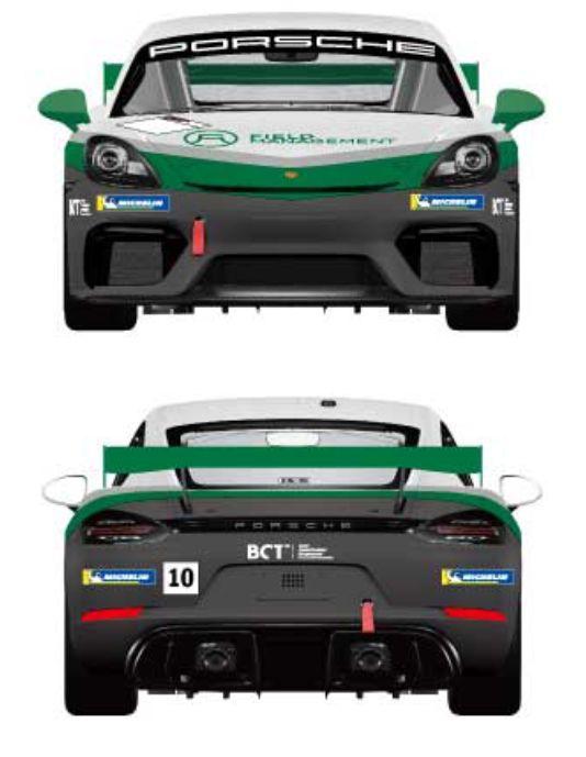 GT4のカラーリング、前後
