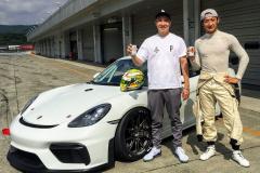 並木氏(左)と井出選手