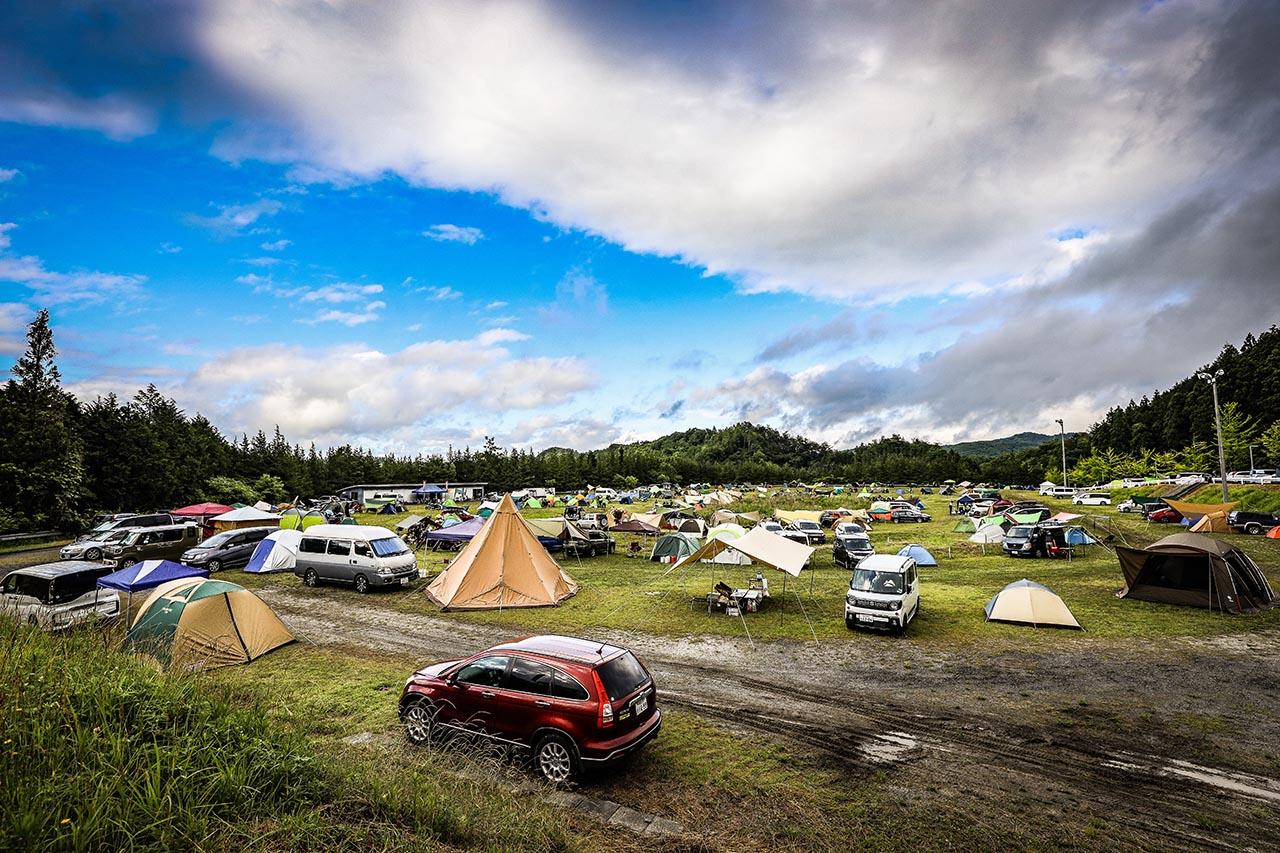 MotoGP日本グランプリのキャンプエリア