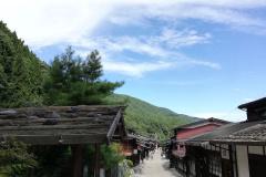 奈良井宿風景
