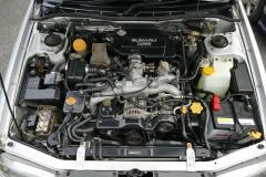 初代レガシィツーリングワゴンエンジン