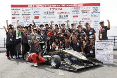 優勝は#7 NIT Formula Project名古屋工業大学