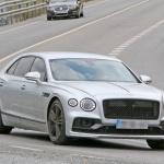 ベントレー最速の4ドアサルーン・フライングスパーに680馬力の「スピード」設定へ - Bentley Flying Spur Speed 3