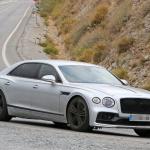 ベントレー最速の4ドアサルーン・フライングスパーに680馬力の「スピード」設定へ - Bentley Flying Spur Speed 5