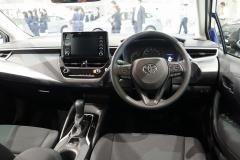 モデリスタ装着車のインテリア