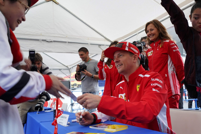 F1日本GPサイン会