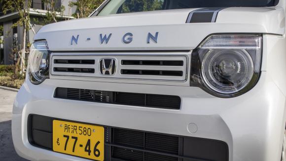 N-WGN純正ディーラーオプション装着車のフロントマスク