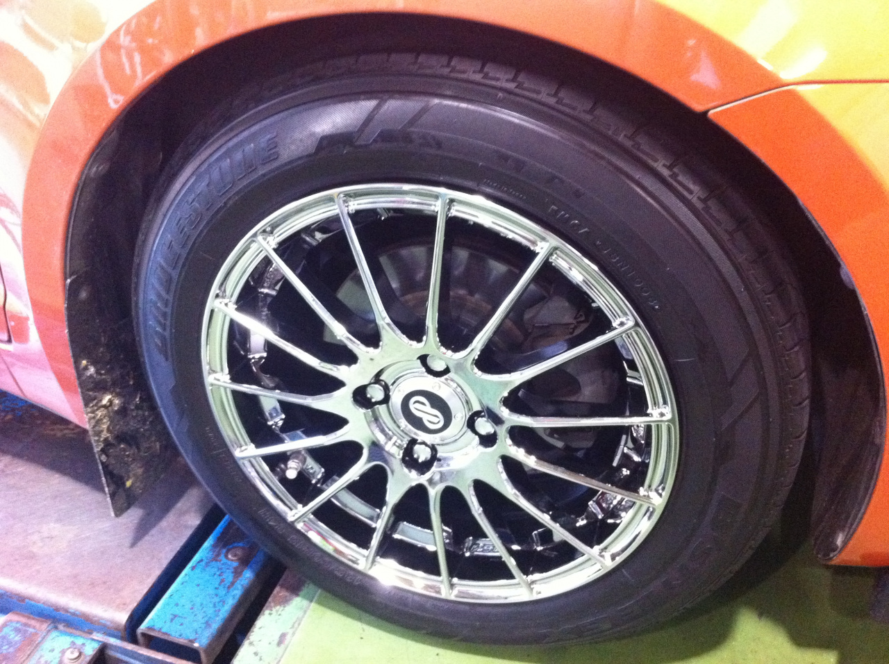 タイヤ車検