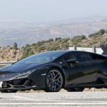 開発車両をキャッチ! ランボルギーニ ウラカンEVOに670馬力の「ペルフォマンテ」が設定? - Lamborghini Huracan EVO Performante mule 4