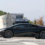 開発車両をキャッチ! ランボルギーニ ウラカンEVOに670馬力の「ペルフォマンテ」が設定? - Lamborghini Huracan EVO Performante mule 6