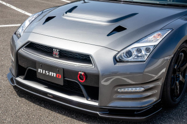 GT-R MY13 CRSボンネット外側