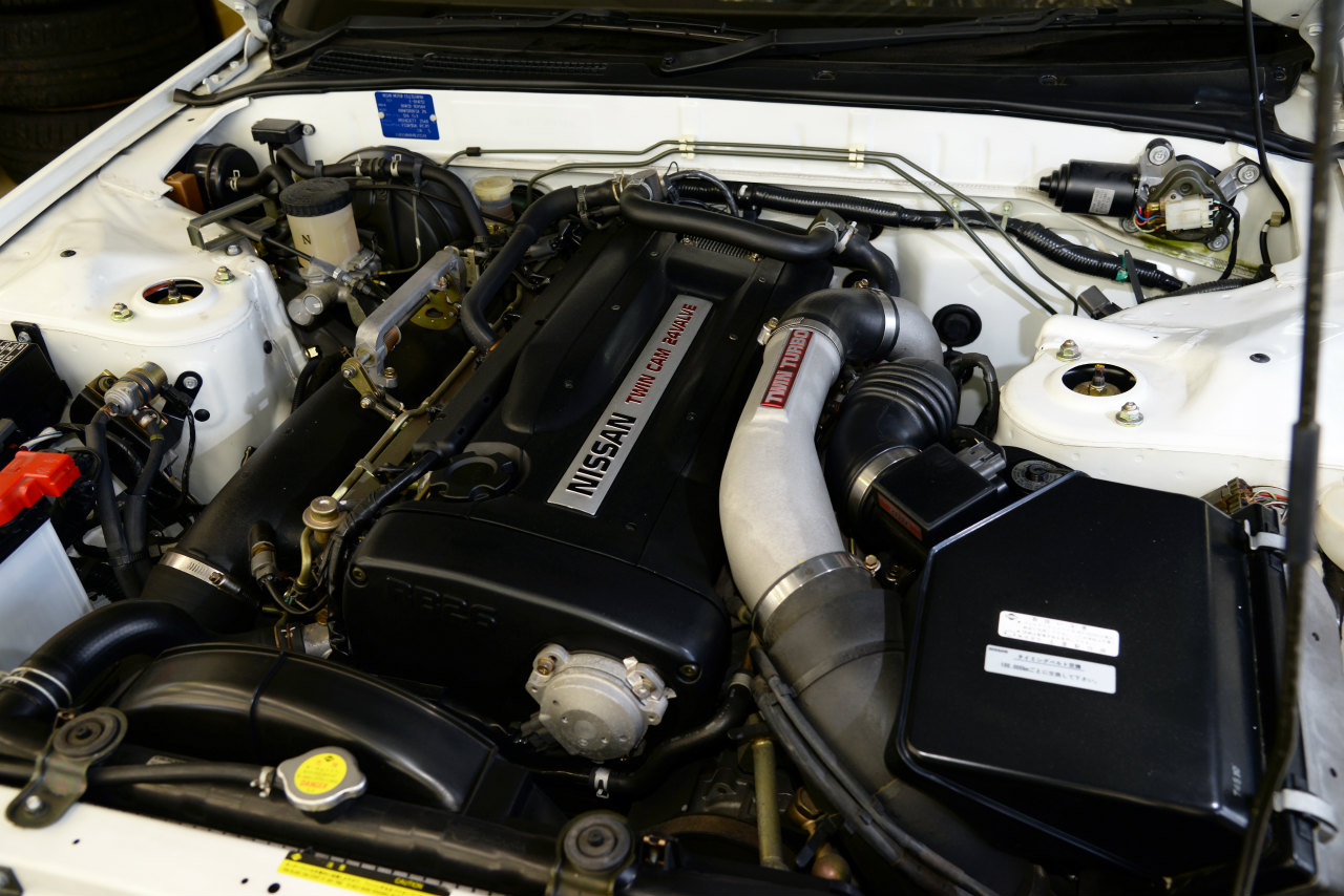 GT-R N1のエンジンルーム
