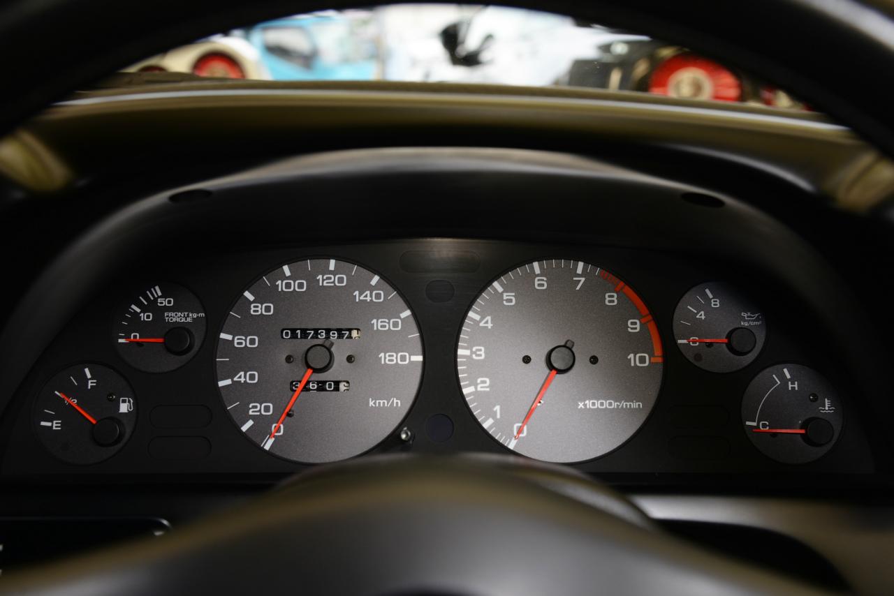 R32GT-Rの距離計