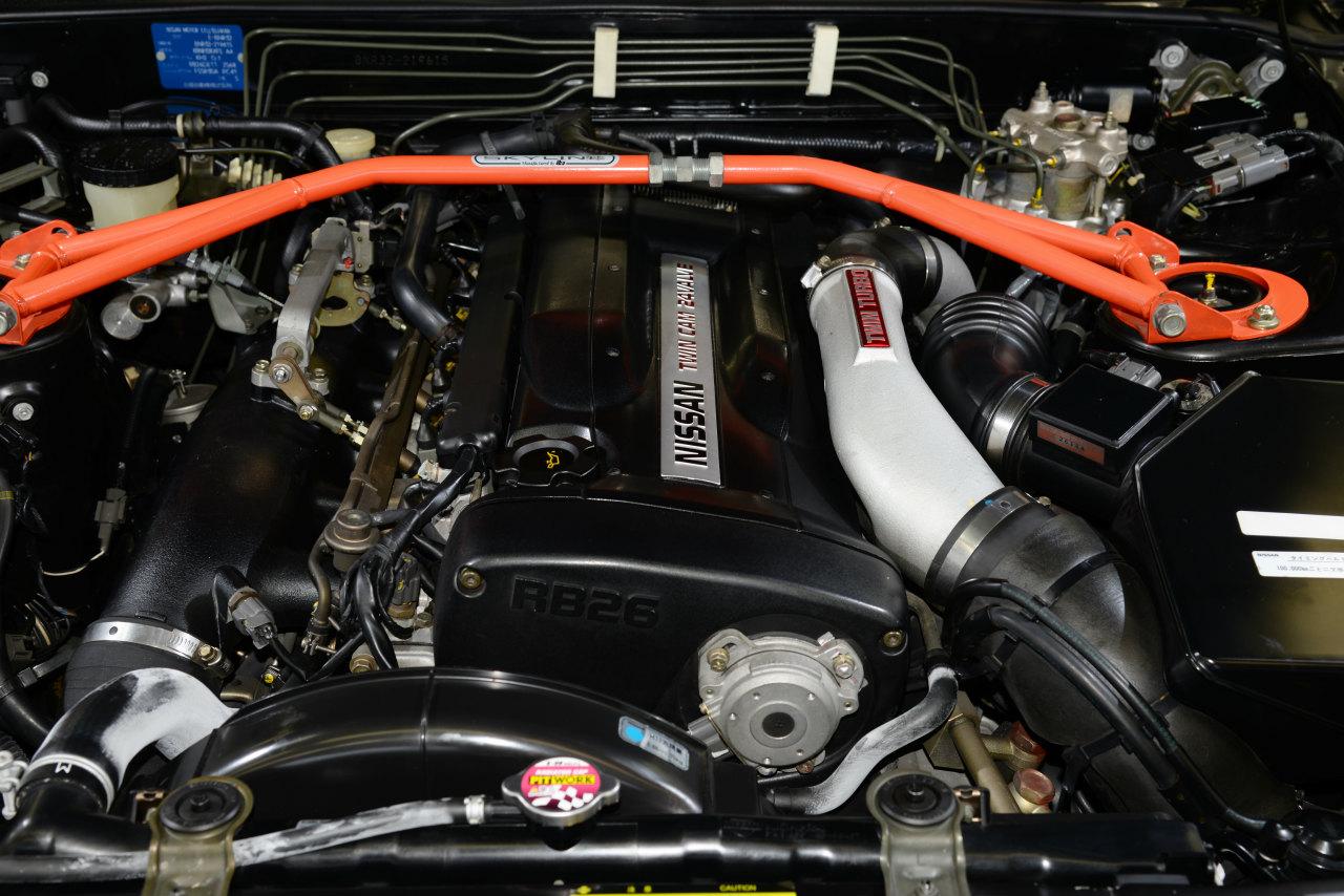 R32GT-Rのエンジンルーム