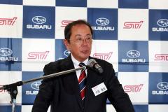 平岡 泰雄STI社長