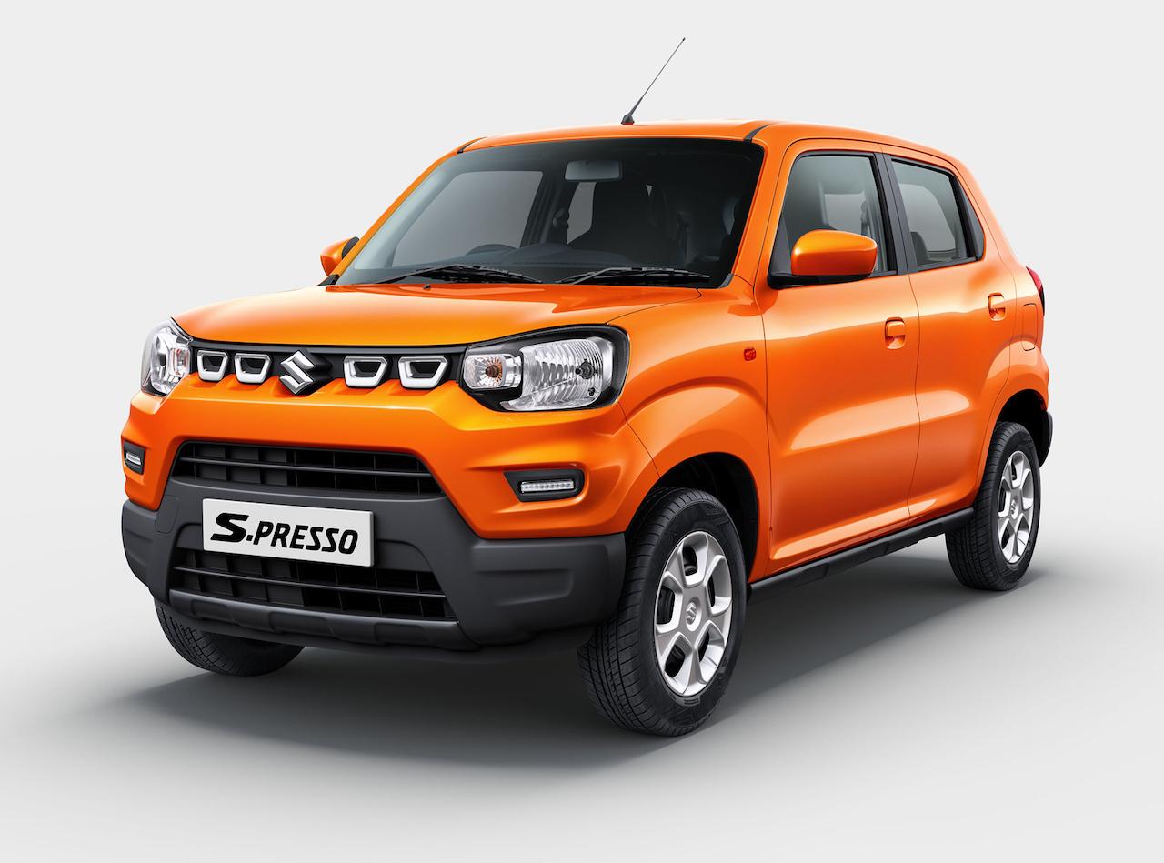 「日本でも発売してほしい! インドで発表された新型の小型SUV「S-PRESSO(エスプレッソ)」【新車】」の1枚目の画像