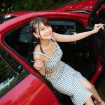 理想的な彼氏みたいな、ジャガー Eペイス【注目モデルとドライブデート!? Vol.16】 - akutsu02