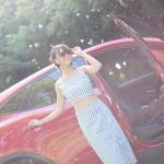 理想的な彼氏みたいな、ジャガー Eペイス【注目モデルとドライブデート!? Vol.16】 - akutsu05