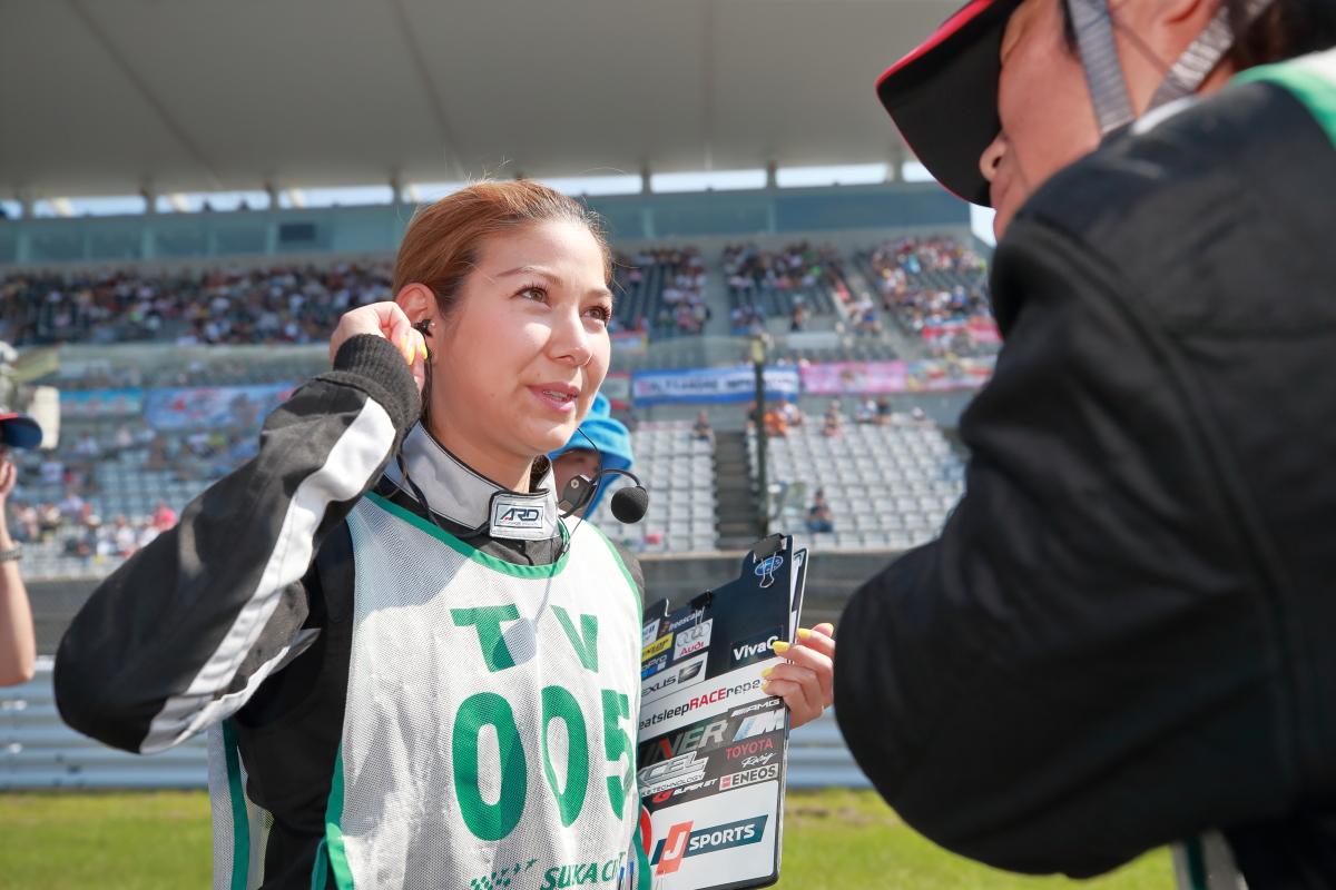 「【サーキット女子に聞いたモータースポーツの魅力】その4・井澤エイミーさん「サーキットは自分の居場所が必ず見つかる場所」」の8枚目の画像