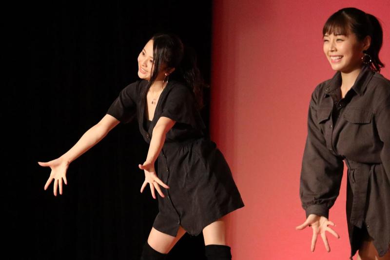 ギャルパラ秋祭りダンスパフォーマンス