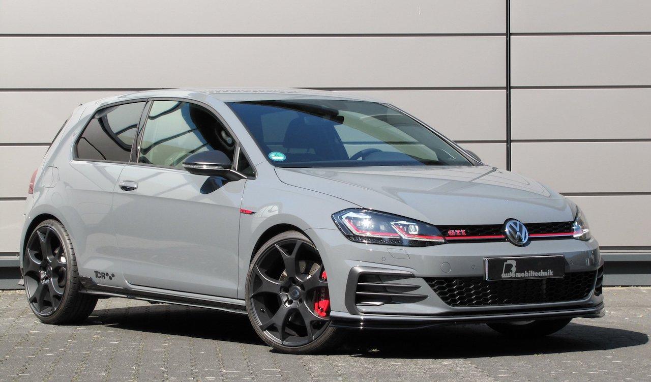 「VWゴルフが過激なハッチバックに変身!? ゴルフGTI TCR用のチューニングキットが発表」の1枚目の画像