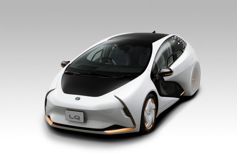 コンセプトカー「LQ」フロント