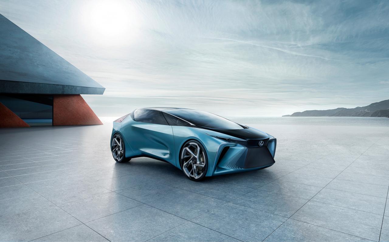 「鉱石のような塊感! レクサスの電動化ビジョンを象徴するコンセプトモデル「LF-30 Electrified」を公開【東京モーターショー2019】」の14枚目の画像