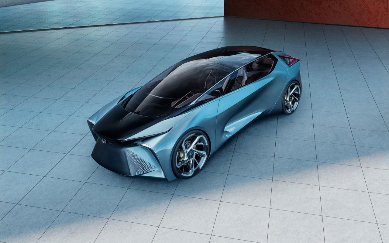 「鉱石のような塊感! レクサスの電動化ビジョンを象徴するコンセプトモデル「LF-30 Electrified」を公開【東京モーターショー2019】」の4枚目の画像